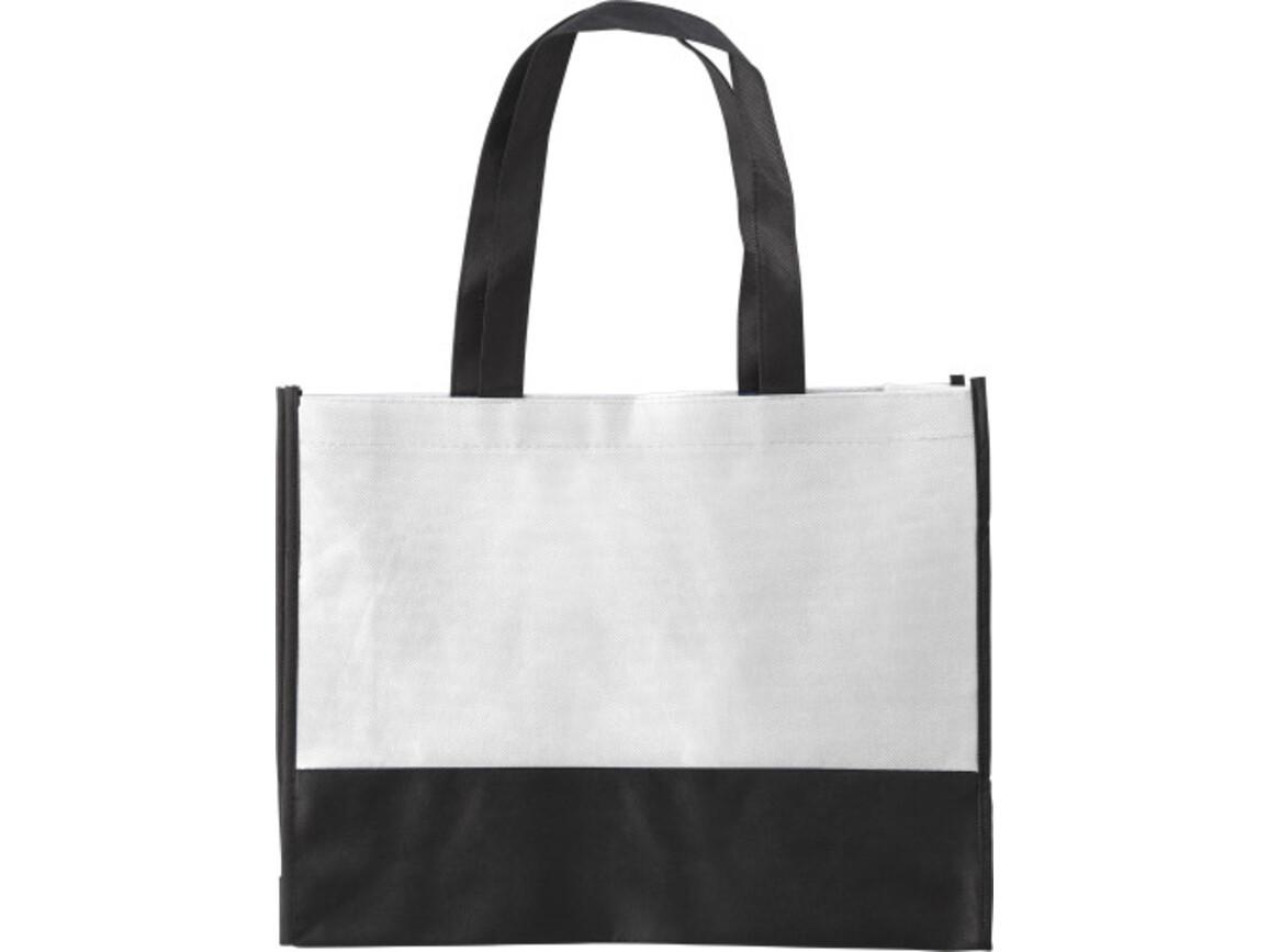 Einkaufstasche 'St. Gallen' aus Non-Woven – Weiß bedrucken, Art.-Nr. 002999999_0971