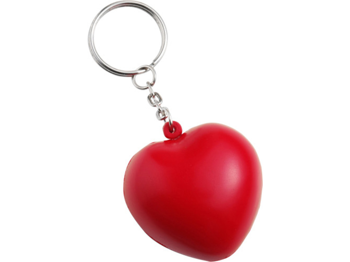 Anti-Stress Herz 'Love' aus PU Schaum – Rot bedrucken, Art.-Nr. 008999999_1171