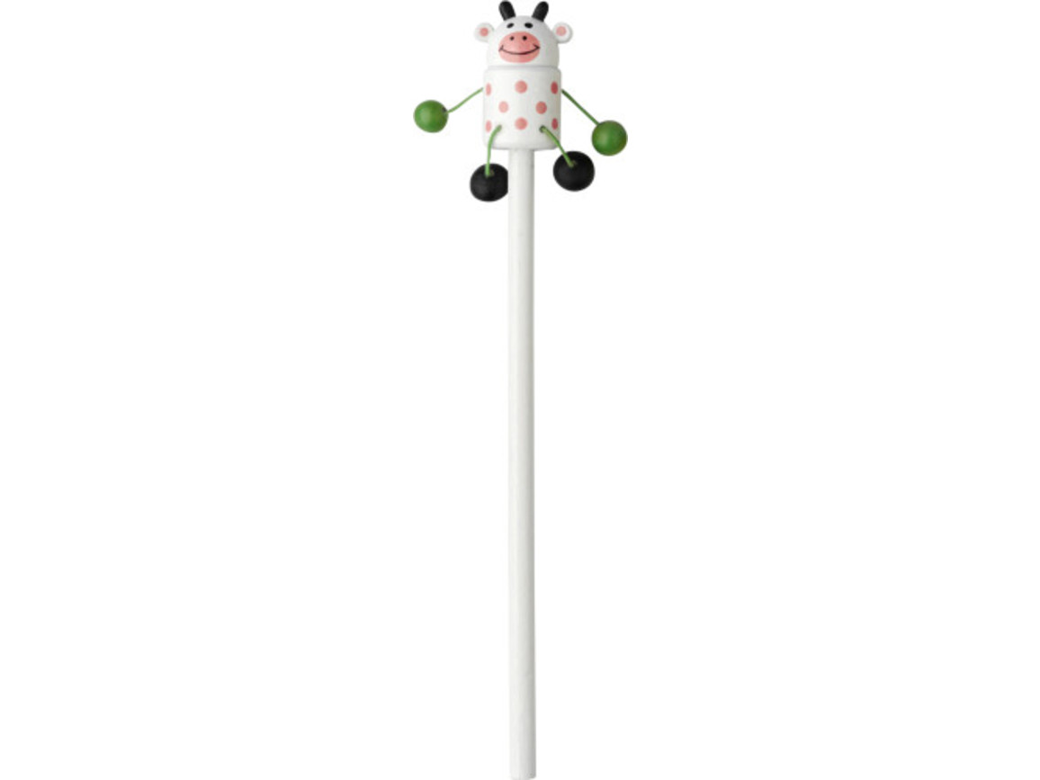 Bleistift 'Animal' mit Tierfiguren – custom/multicolor bedrucken, Art.-Nr. 009999999_1207