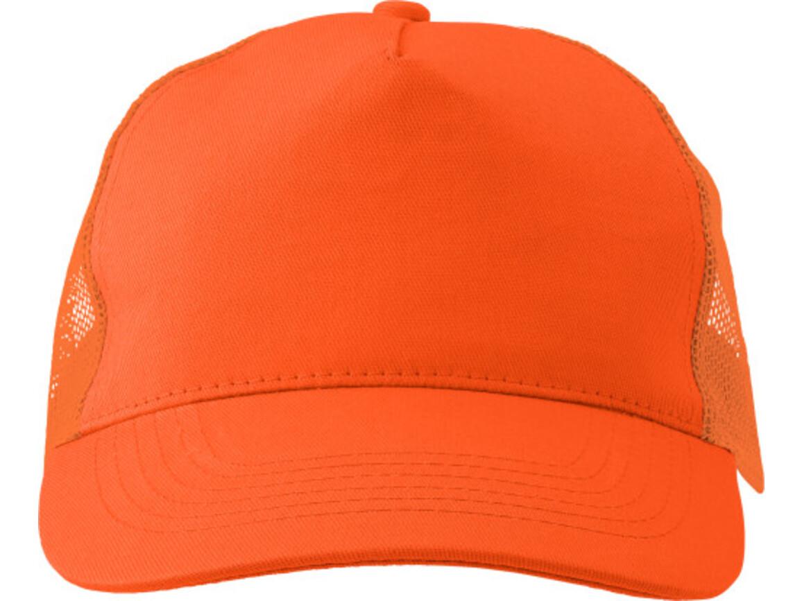 Baseball-Cap 'Sunshine' aus Baumwolle – Orange bedrucken, Art.-Nr. 007999999_1447