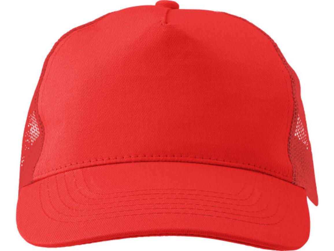 Baseball-Cap 'Sunshine' aus Baumwolle – Rot bedrucken, Art.-Nr. 008999999_1447