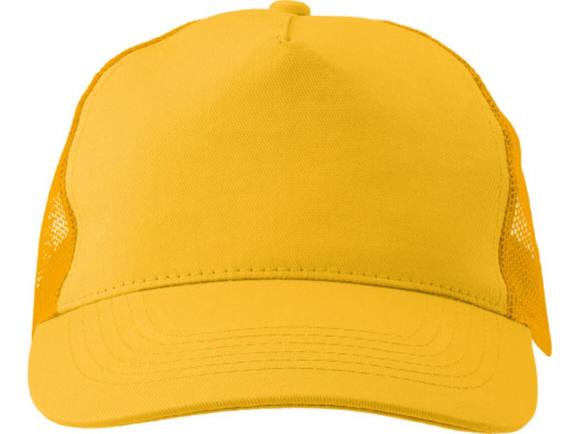 Baseball-Cap 'Sunshine' aus Baumwolle – Gelb bedrucken, Art.-Nr. 006999999_1447