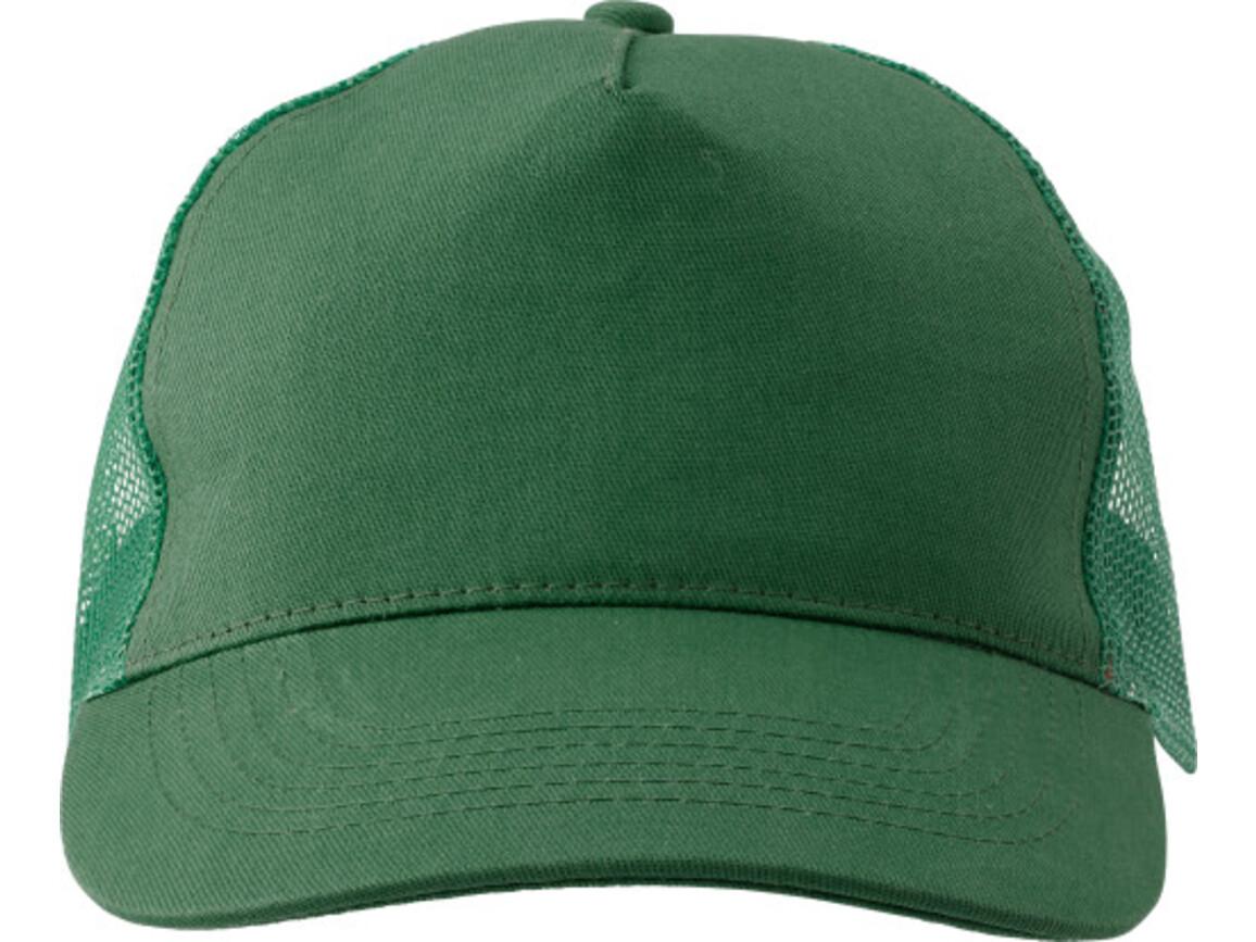 Baseball-Cap 'Sunshine' aus Baumwolle – Grün bedrucken, Art.-Nr. 004999999_1447