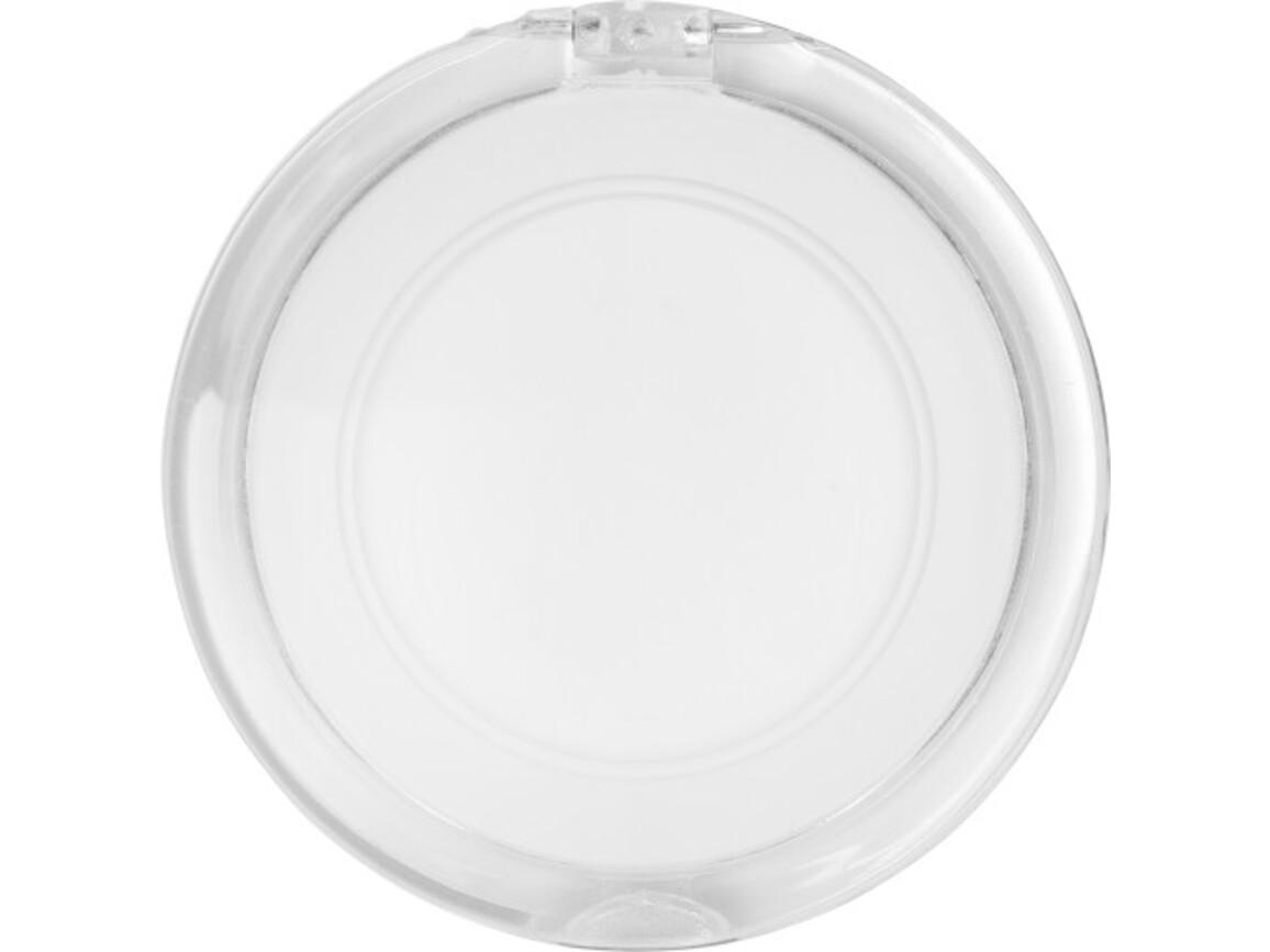 Kosmetikspiegel 'Madame' aus Kunststoff – Weiß bedrucken, Art.-Nr. 002999999_1651