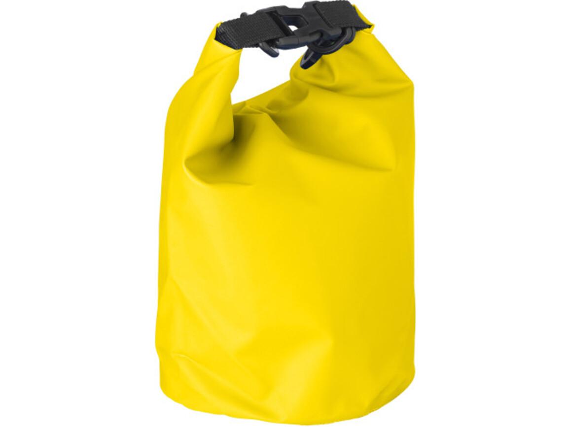 Strandtasche 'River' aus PVC – Gelb bedrucken, Art.-Nr. 006999999_1877