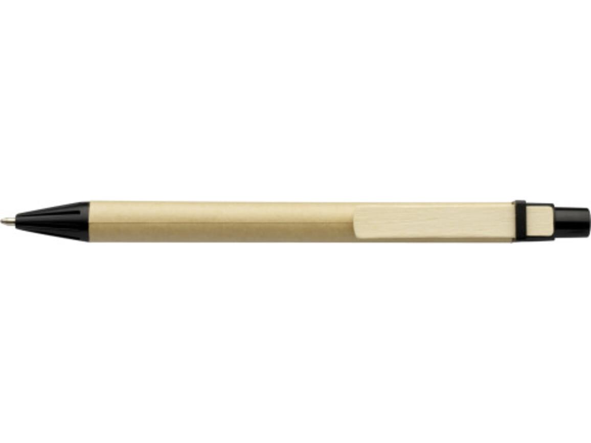 Kugelschreiber aus Pappe – Schwarz bedrucken, Art.-Nr. 001999999_2019