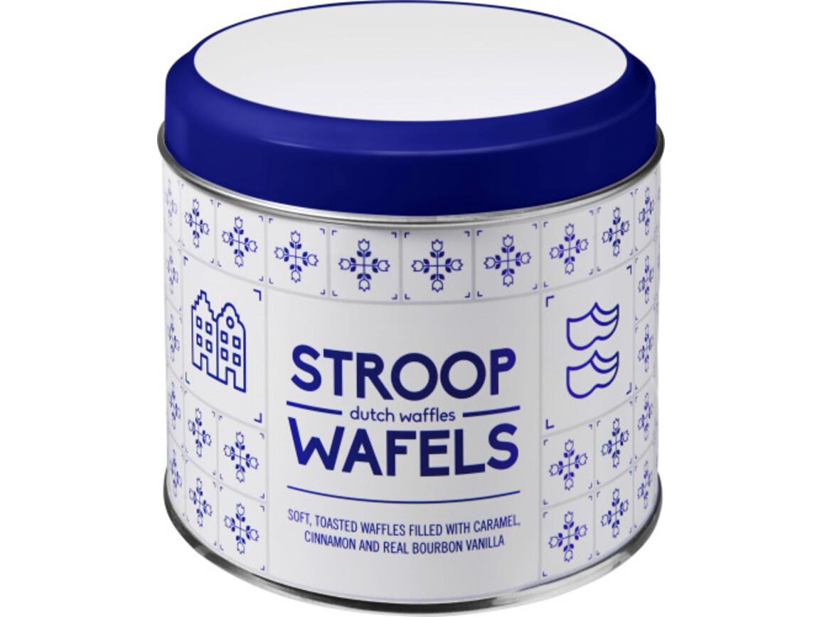 Metalldose für Stroopwafel 'Amsterdam' – custom/multicolor bedrucken, Art.-Nr. 009999999_2189