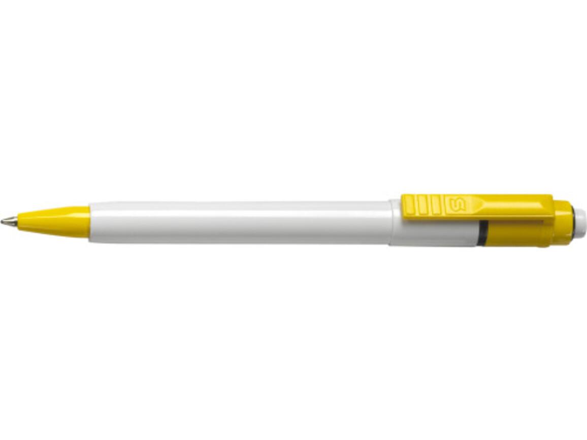 Stilolinea Kugelschreiber 'Jumbo Color Baron' – Gelb bedrucken, Art.-Nr. 006999999_2250