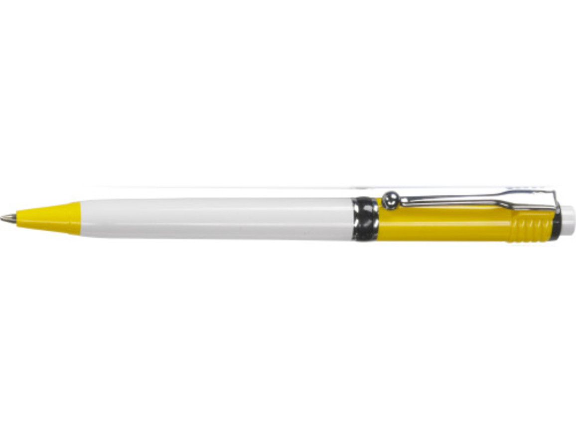 Stilolinea Kugelschreiber 'Jumbo Color Raja' – Gelb bedrucken, Art.-Nr. 006999999_2252