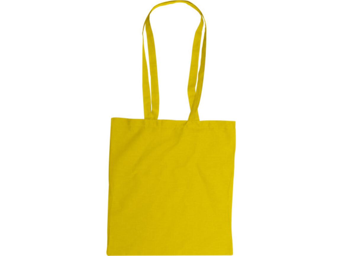 Baumwolltasche  'Color-Line' – Gelb bedrucken, Art.-Nr. 006999999_2314