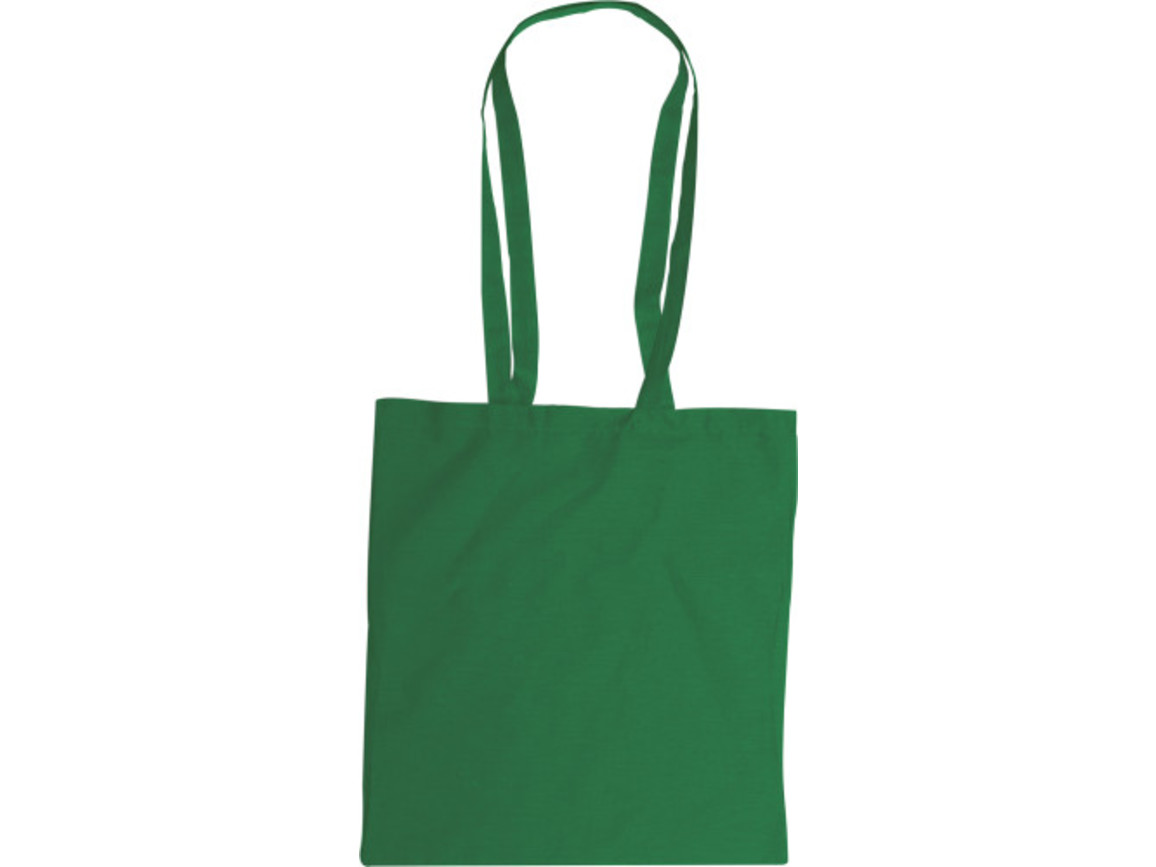 Baumwolltasche  'Color-Line' – Grün bedrucken, Art.-Nr. 004999999_2314