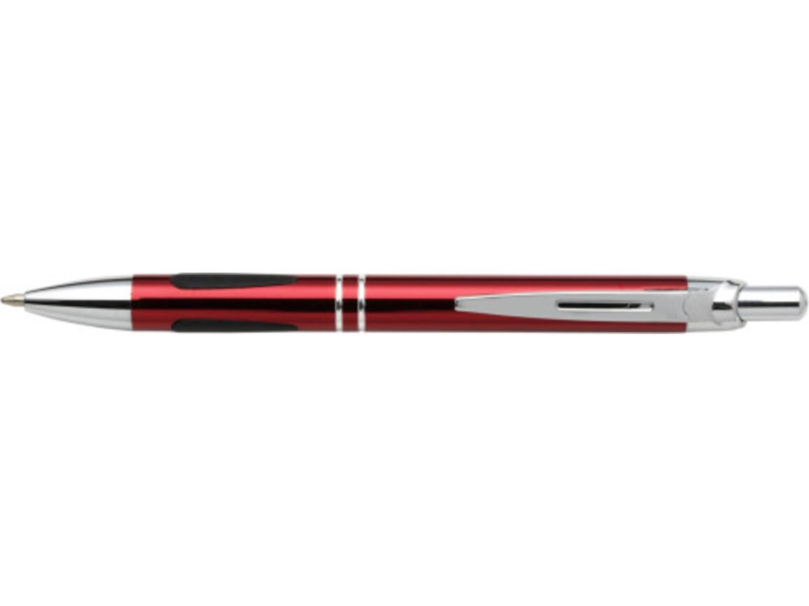 Kugelschreiber 'Vermont' aus Metall – Rot bedrucken, Art.-Nr. 008999999_3020