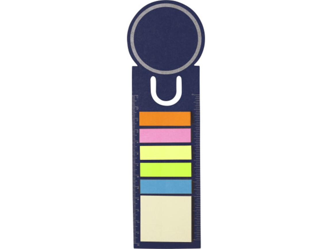 Lesezeichen 'Big Ben' aus Pappe – Blau bedrucken, Art.-Nr. 005999999_3115