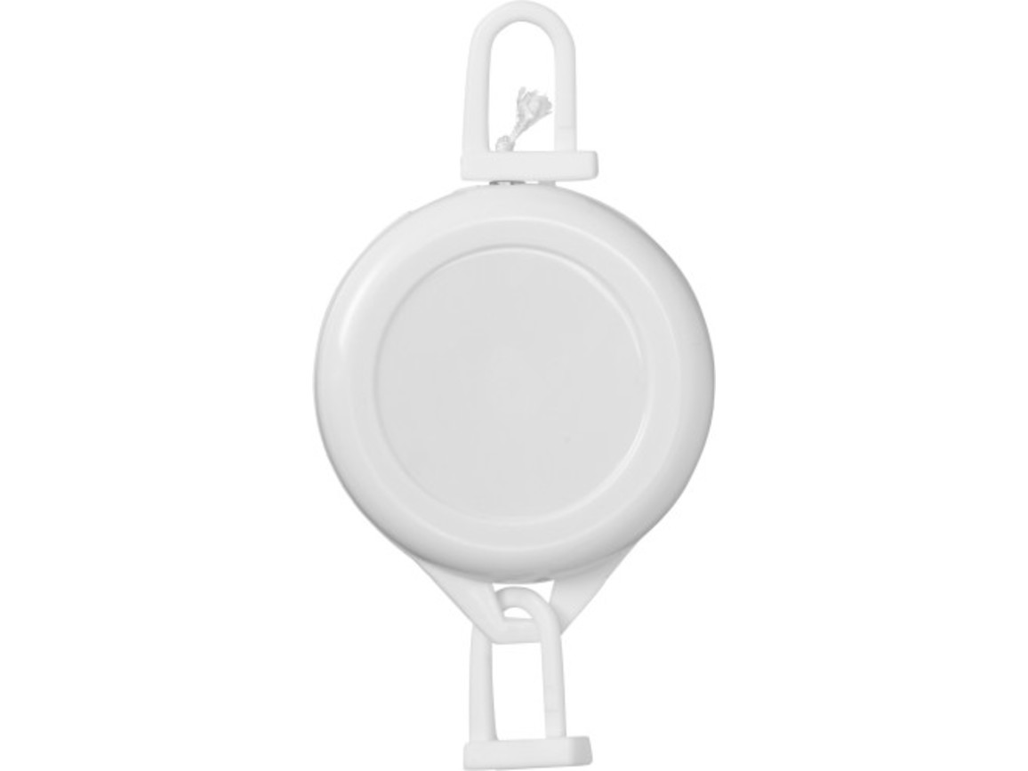Ausweishalter 'Simply' aus Kunststoff – Weiß bedrucken, Art.-Nr. 002999999_3133