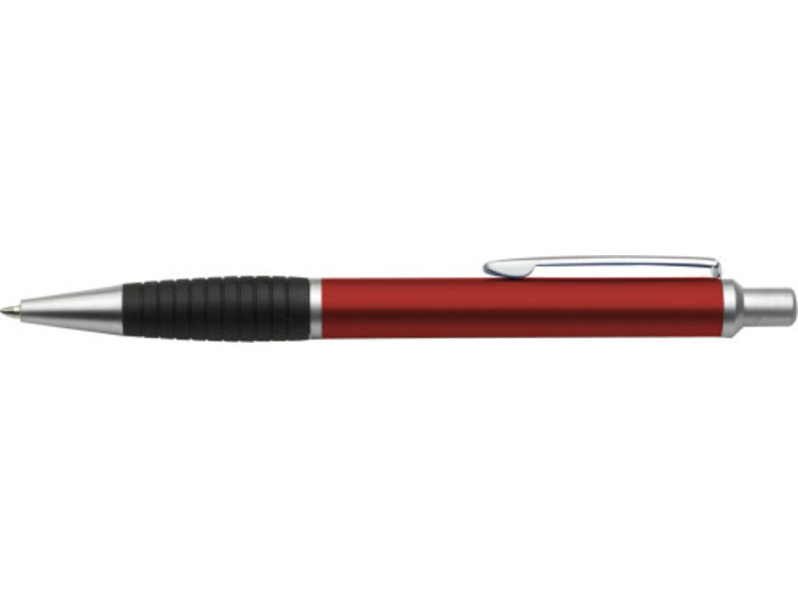 Kugelschreiber 'Luzern' aus Metall – Rot bedrucken, Art.-Nr. 008999999_3148