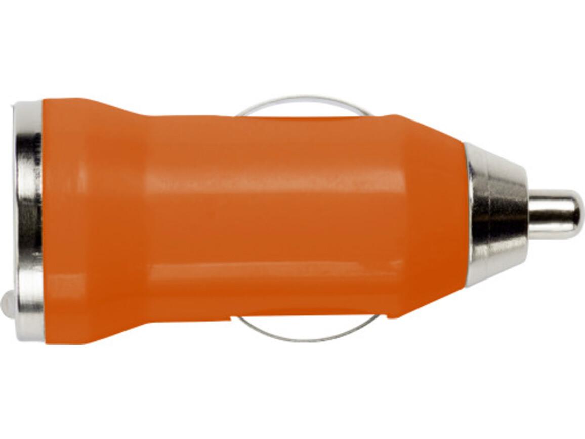 USB-KFZ-Ladestecker 'Universal' für Zigarettenanzünder – Orange bedrucken, Art.-Nr. 007999999_3190