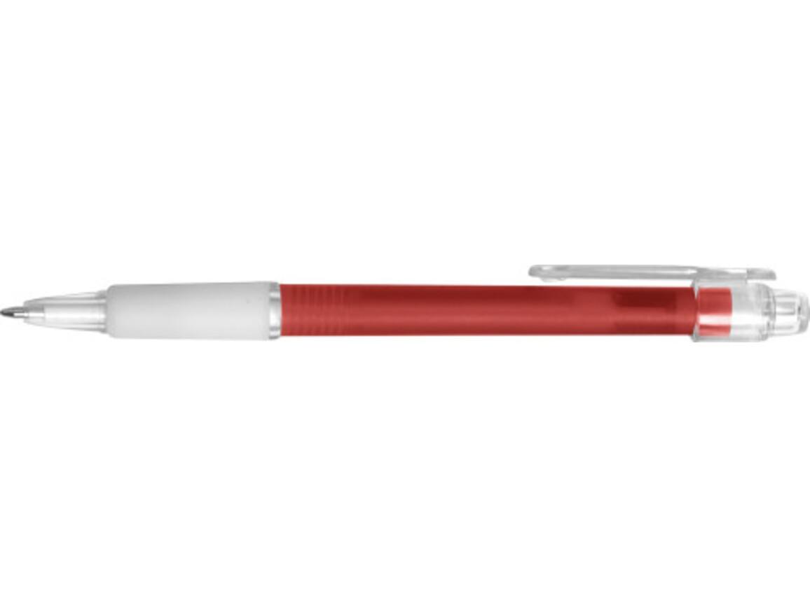 Kugelschreiber 'Carmen' aus Kunststoff – Rot bedrucken, Art.-Nr. 008999999_3321