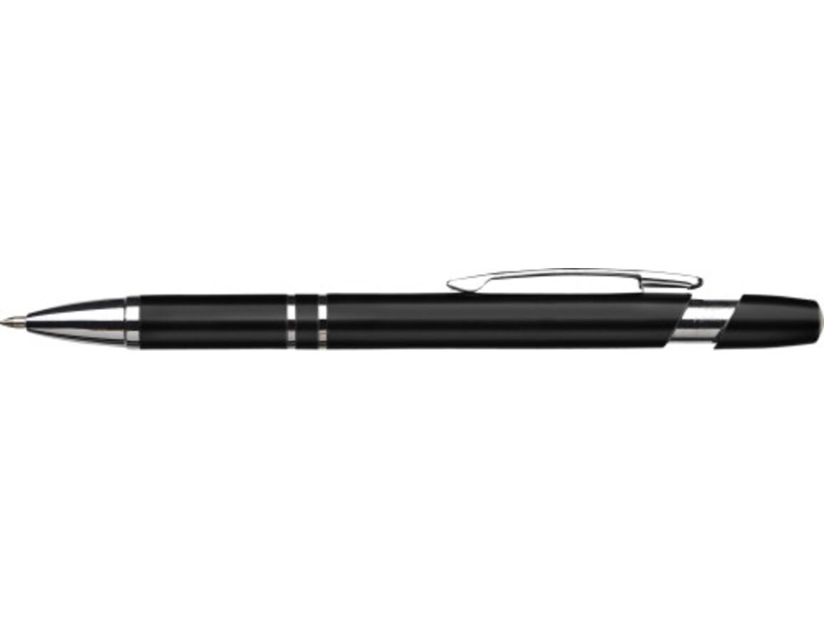 Kugelschreiber 'Murcia' aus Kunststoff – Schwarz bedrucken, Art.-Nr. 001999999_3467