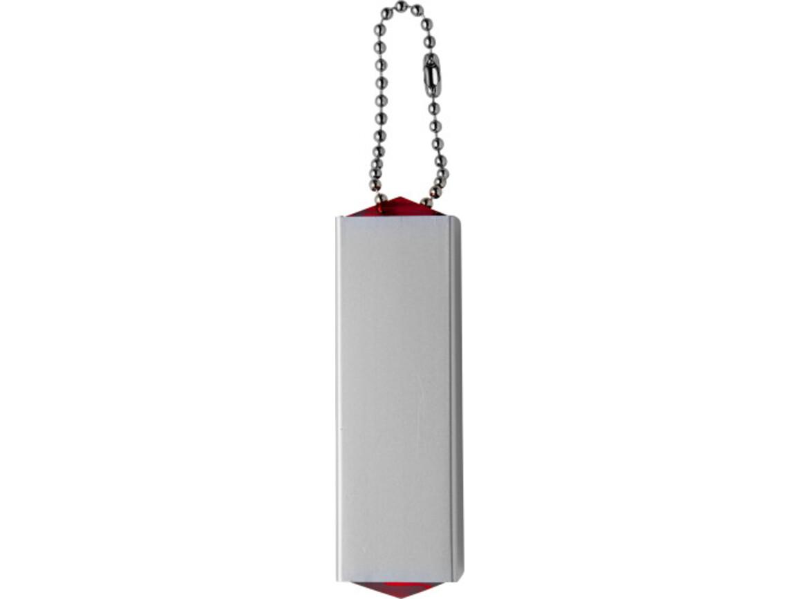 Manikürset 'Pocket' aus Metall/ABS-Kunststoff – Rot bedrucken, Art.-Nr. 008999999_3514