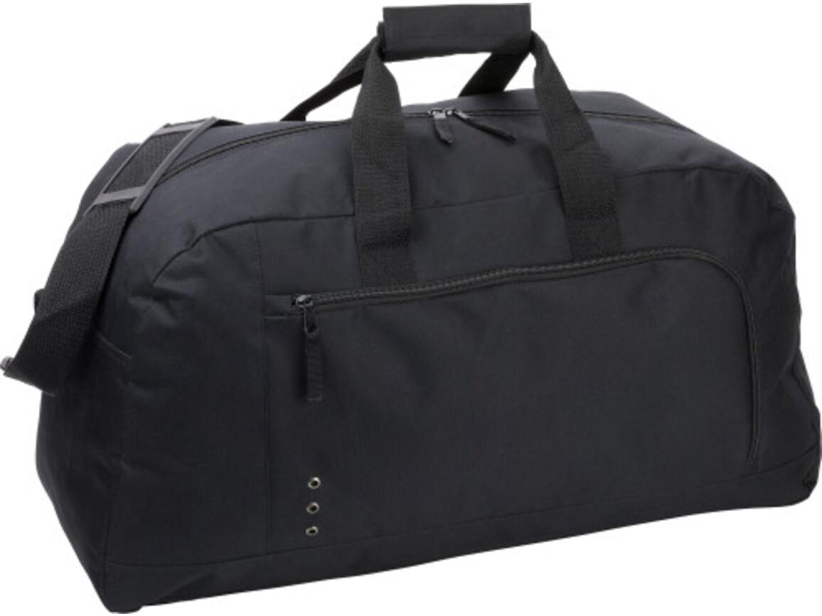 Sporttasche 'Premium' aus Polyester – Schwarz bedrucken, Art.-Nr. 001999999_3572