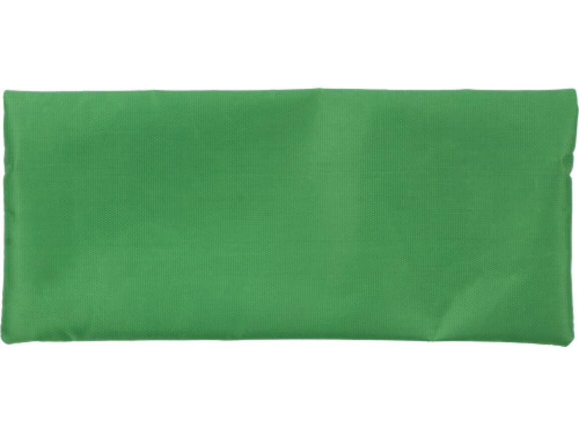 Stifte-Etui 'Jordi' aus Polyester – Grün bedrucken, Art.-Nr. 004999999_3598