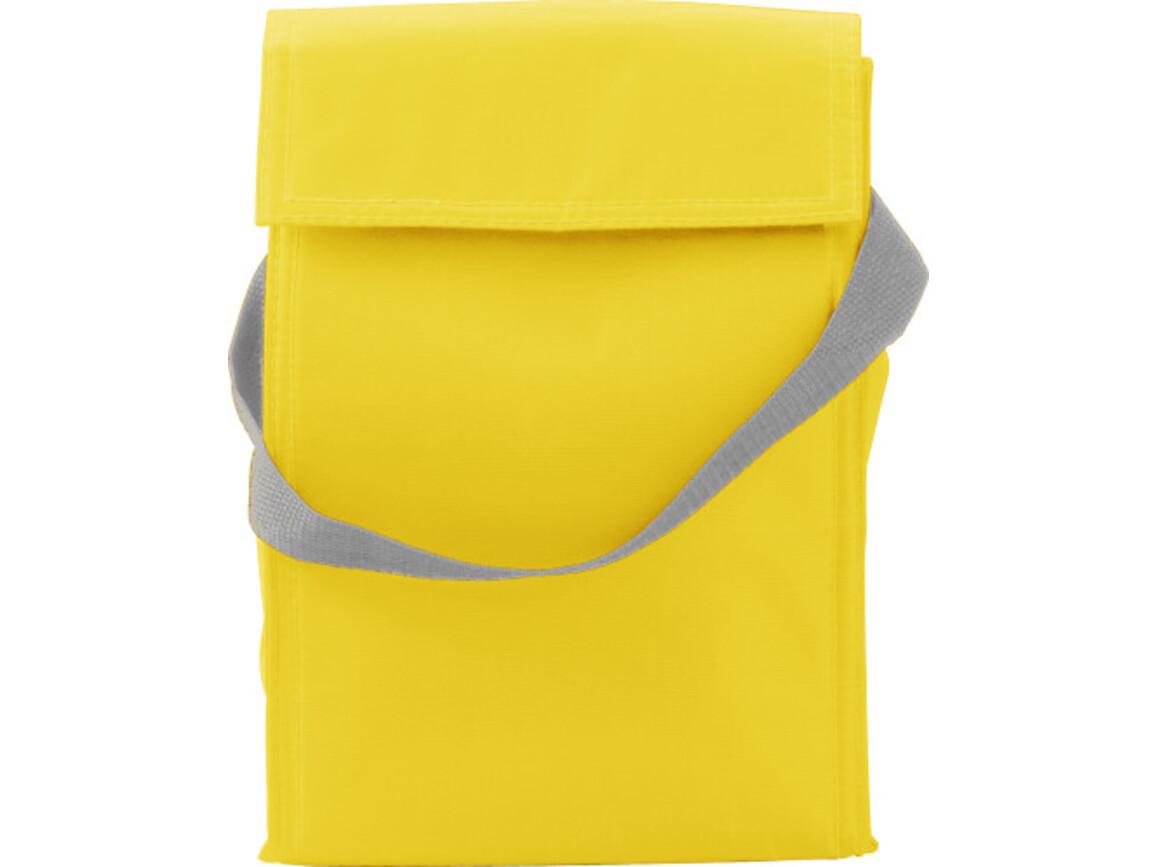 Kühltasche 'Breakfast' aus Polyester – Gelb bedrucken, Art.-Nr. 006999999_3609
