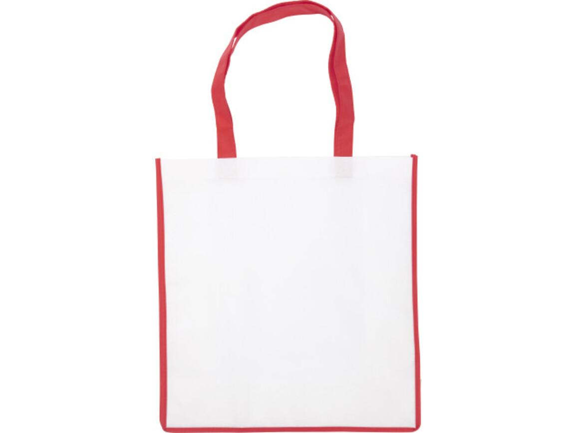 Einkaufstasche 'Bern' aus Non-Woven – Rot bedrucken, Art.-Nr. 008999999_3610