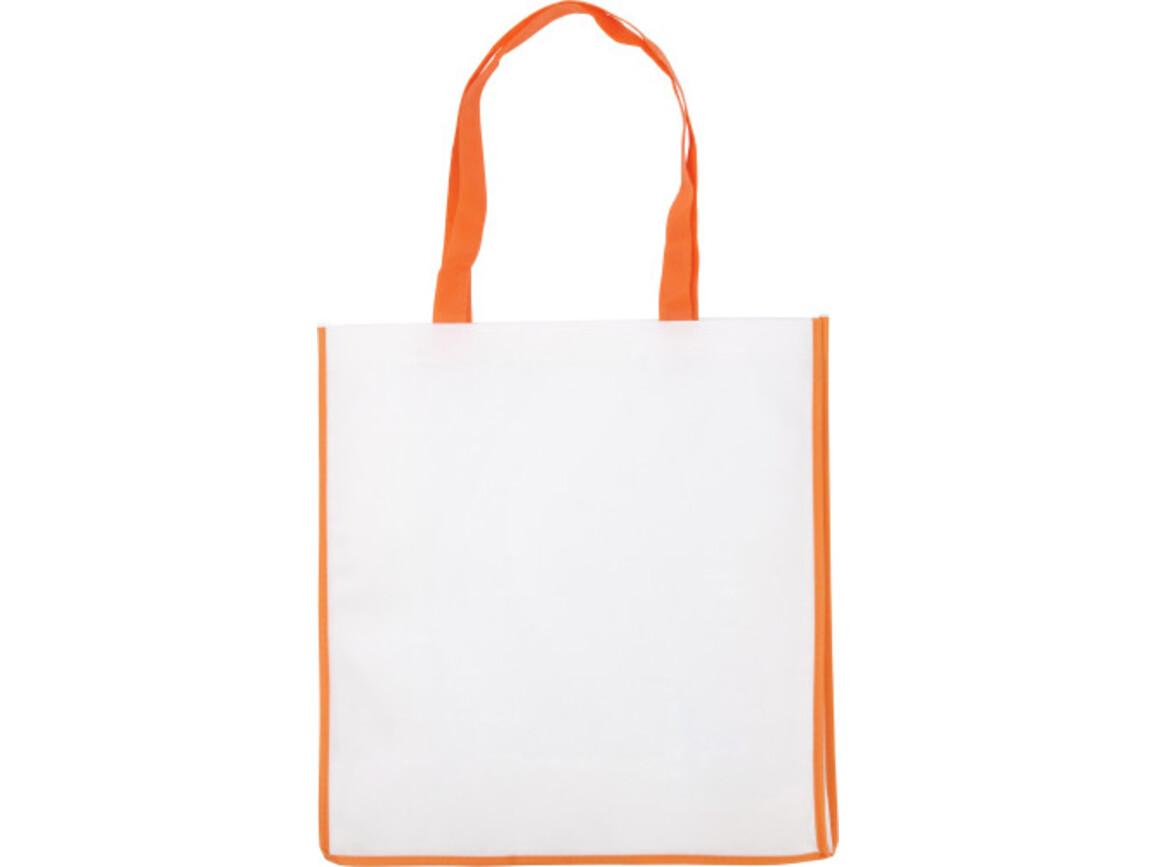 Einkaufstasche 'Bern' aus Non-Woven – Orange bedrucken, Art.-Nr. 007999999_3610