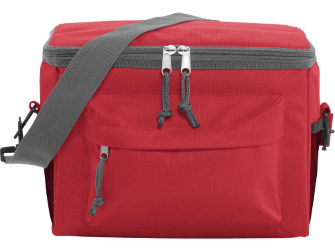 Kühltasche 'Norway' aus Polyester – Rot bedrucken, Art.-Nr. 008999999_3637