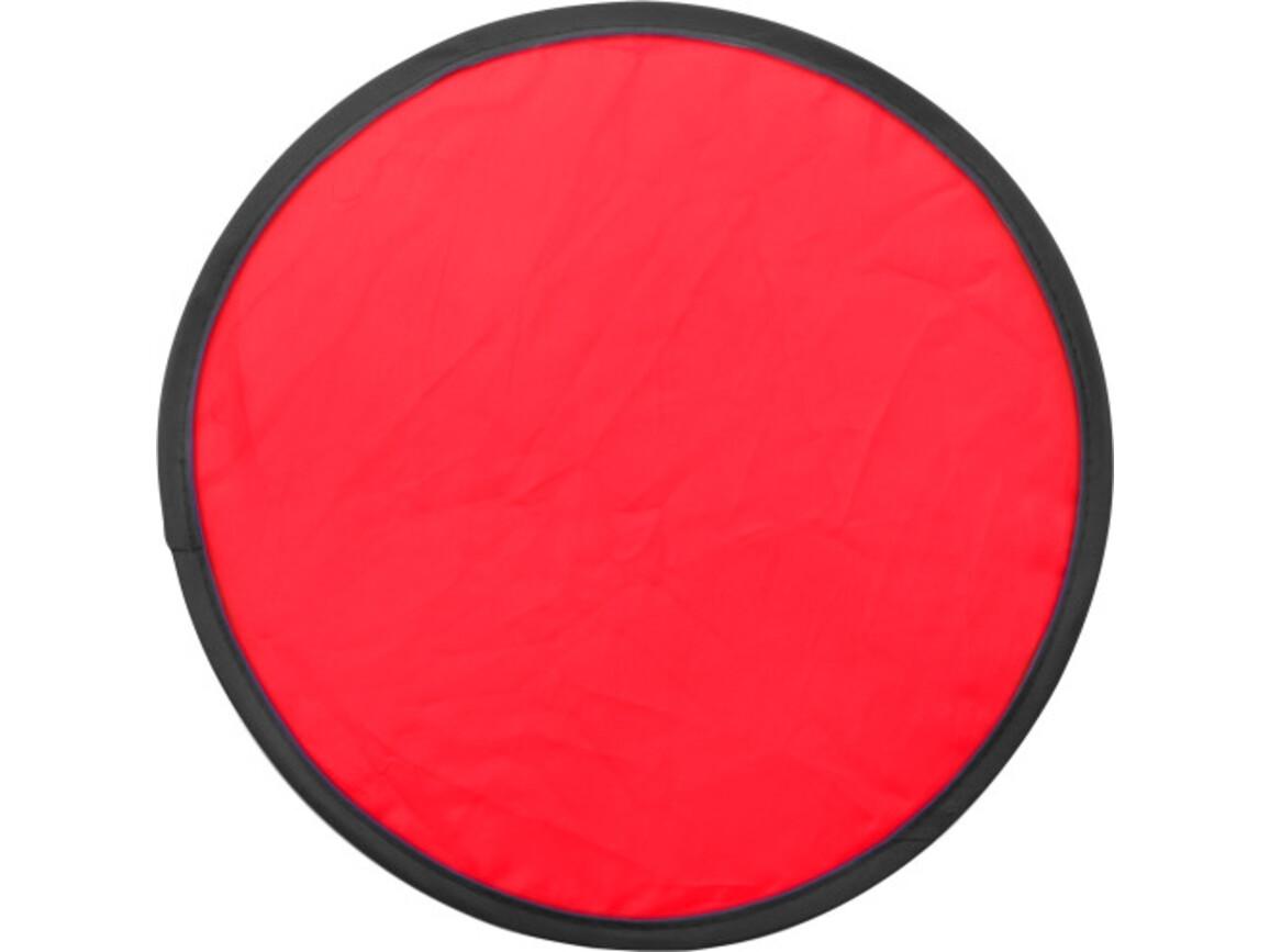 Wurfscheibe 'Sky' mit flexiblem Drahtseil – Rot bedrucken, Art.-Nr. 008999999_3710