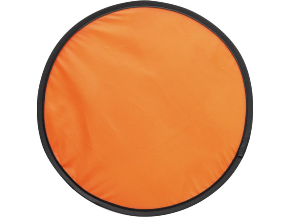Wurfscheibe 'Sky' mit flexiblem Drahtseil – Orange bedrucken, Art.-Nr. 007999999_3710