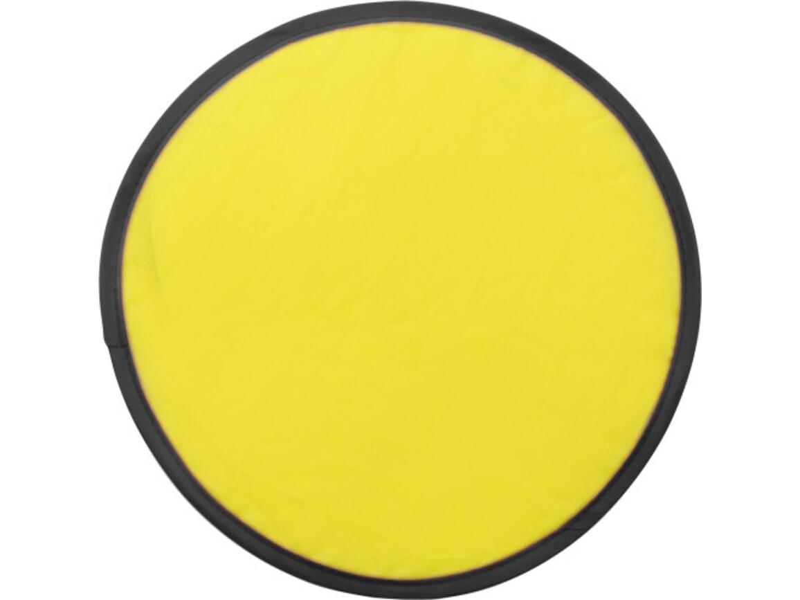 Wurfscheibe 'Sky' mit flexiblem Drahtseil – Gelb bedrucken, Art.-Nr. 006999999_3710