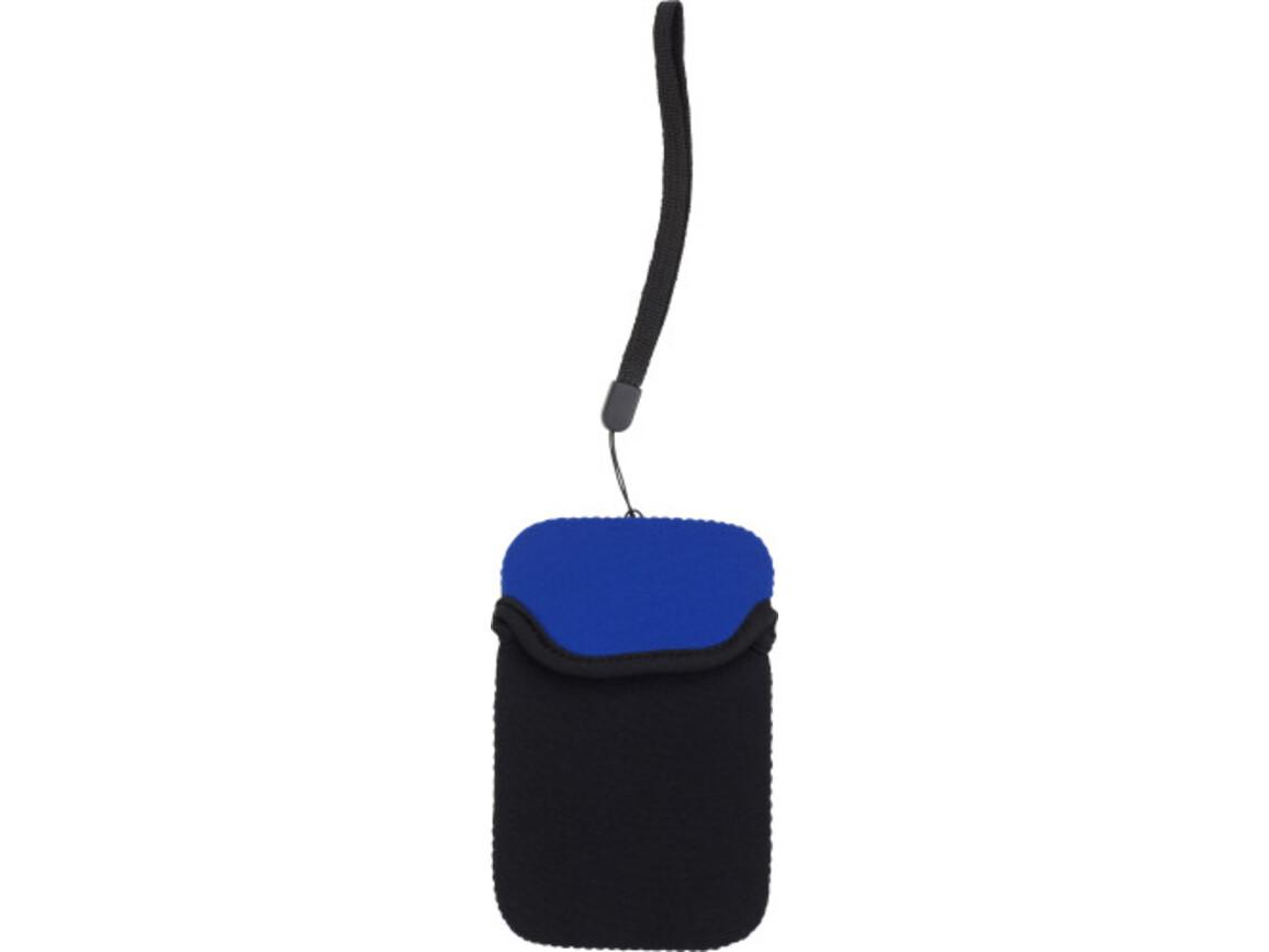 Handyhalter 'Comfort' aus Polyamin – Blau bedrucken, Art.-Nr. 005999999_3762