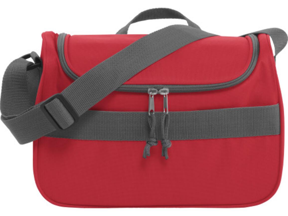 Kühltasche 'Schweden' aus Polyester – Rot bedrucken, Art.-Nr. 008999999_3764