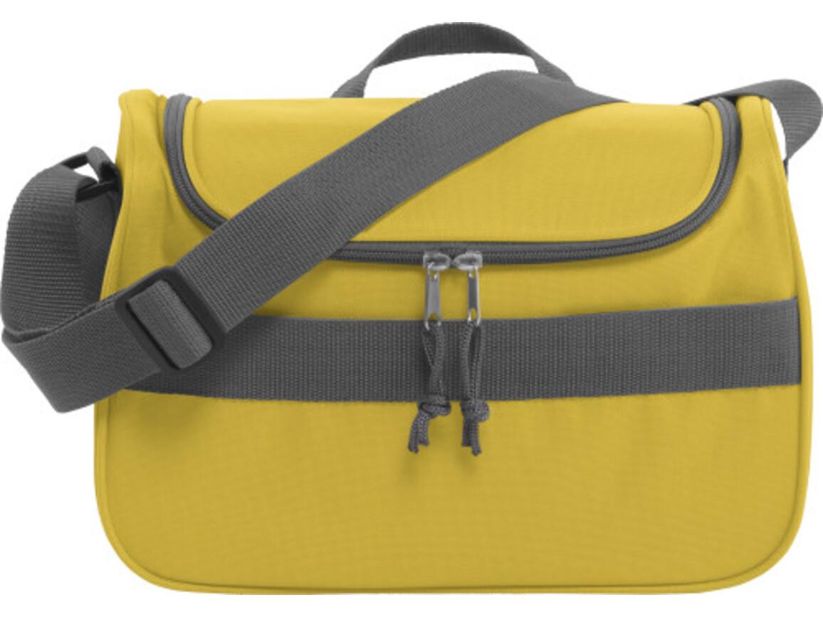 Kühltasche 'Schweden' aus Polyester – Gelb bedrucken, Art.-Nr. 006999999_3764