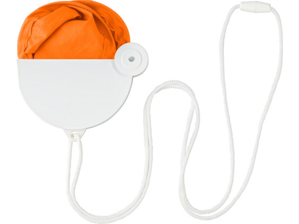 Fächer 'Easy' aus Polyester – Orange bedrucken, Art.-Nr. 007999999_3772