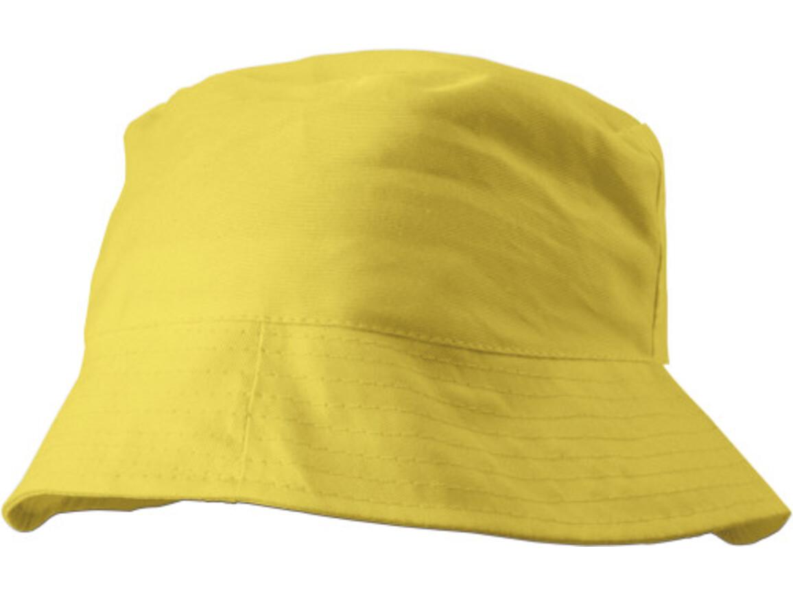 Sonnenhut 'Safari' aus 100% Baumwolle – Gelb bedrucken, Art.-Nr. 006999999_3826