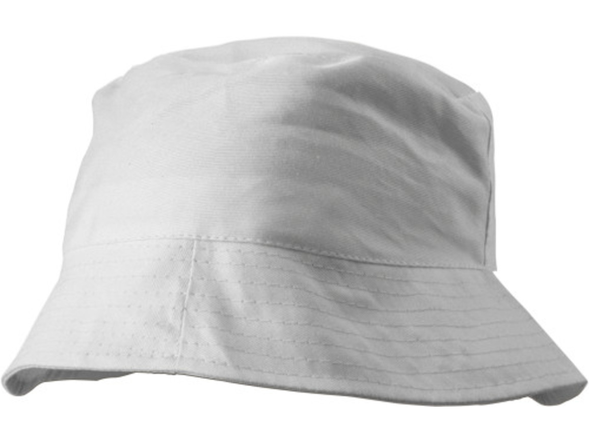 Sonnenhut 'Safari' aus 100% Baumwolle – Weiß bedrucken, Art.-Nr. 002999999_3826