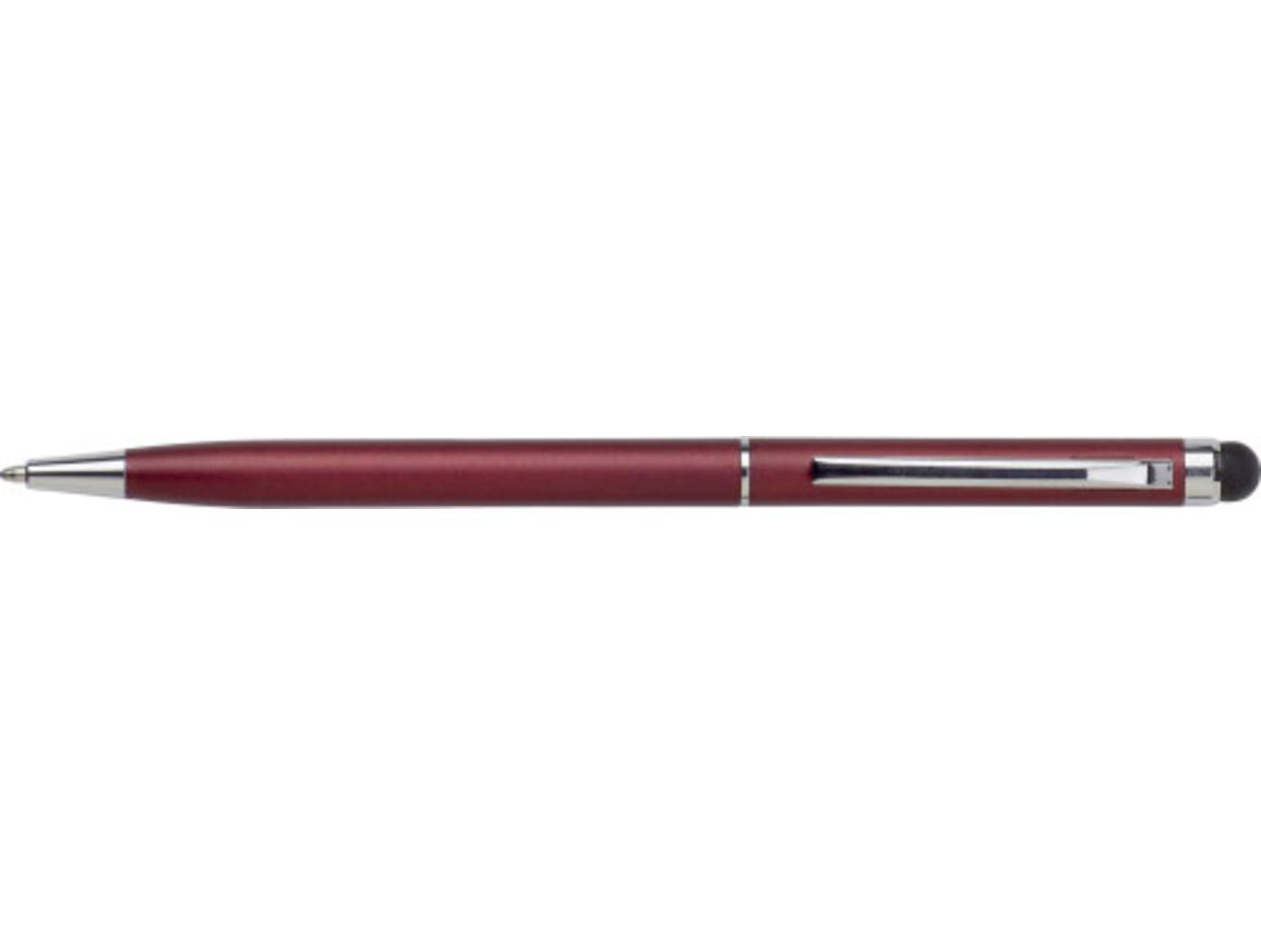 Kugelschreiber 'Sway' aus Aluminium – Bordeauxrot bedrucken, Art.-Nr. 010999999_3832