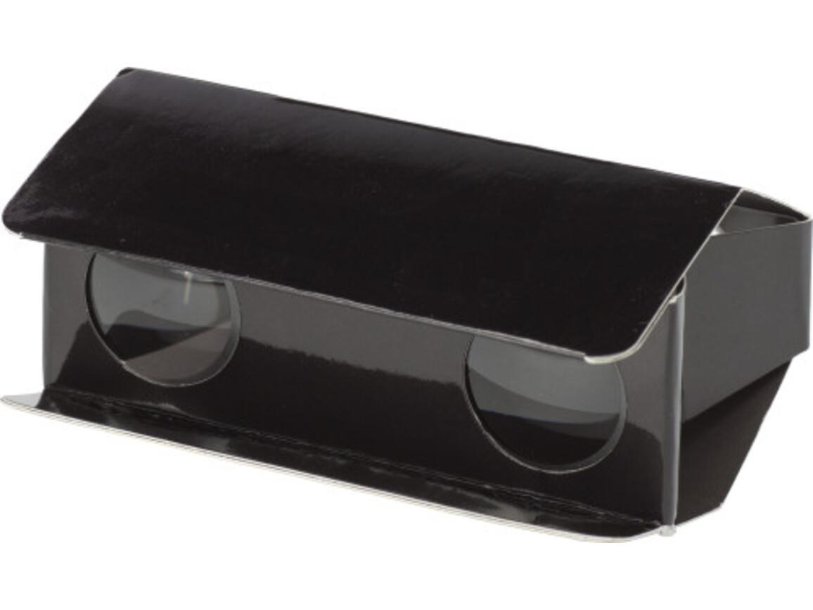 Fernglas 'Pocket' aus Pappe – Schwarz bedrucken, Art.-Nr. 001999999_3859