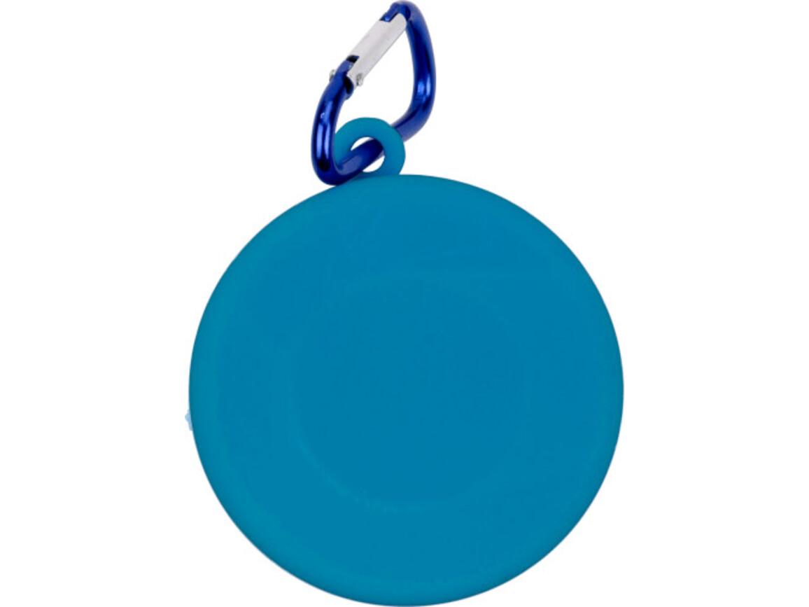 Trinkbecher 'Travel' aus Kunststoff – Blau bedrucken, Art.-Nr. 005999999_3878