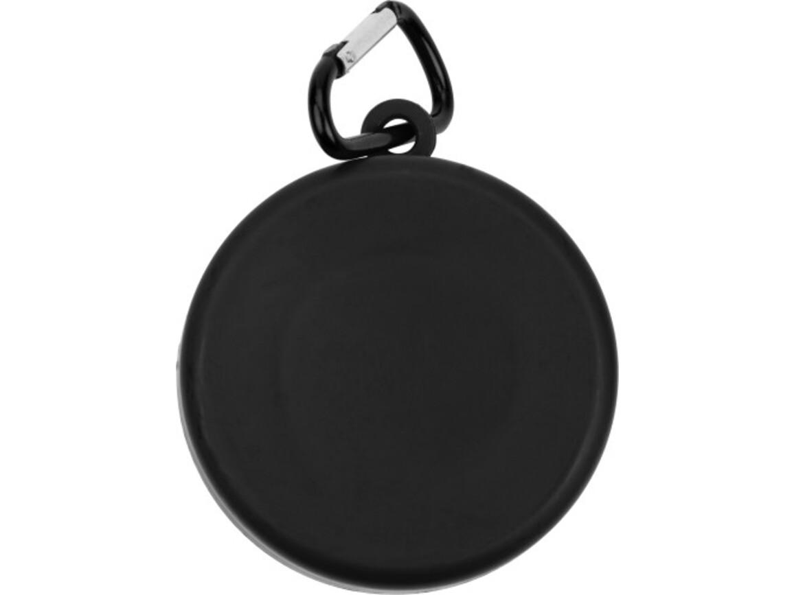 Trinkbecher 'Travel' aus Kunststoff – Schwarz bedrucken, Art.-Nr. 001999999_3878