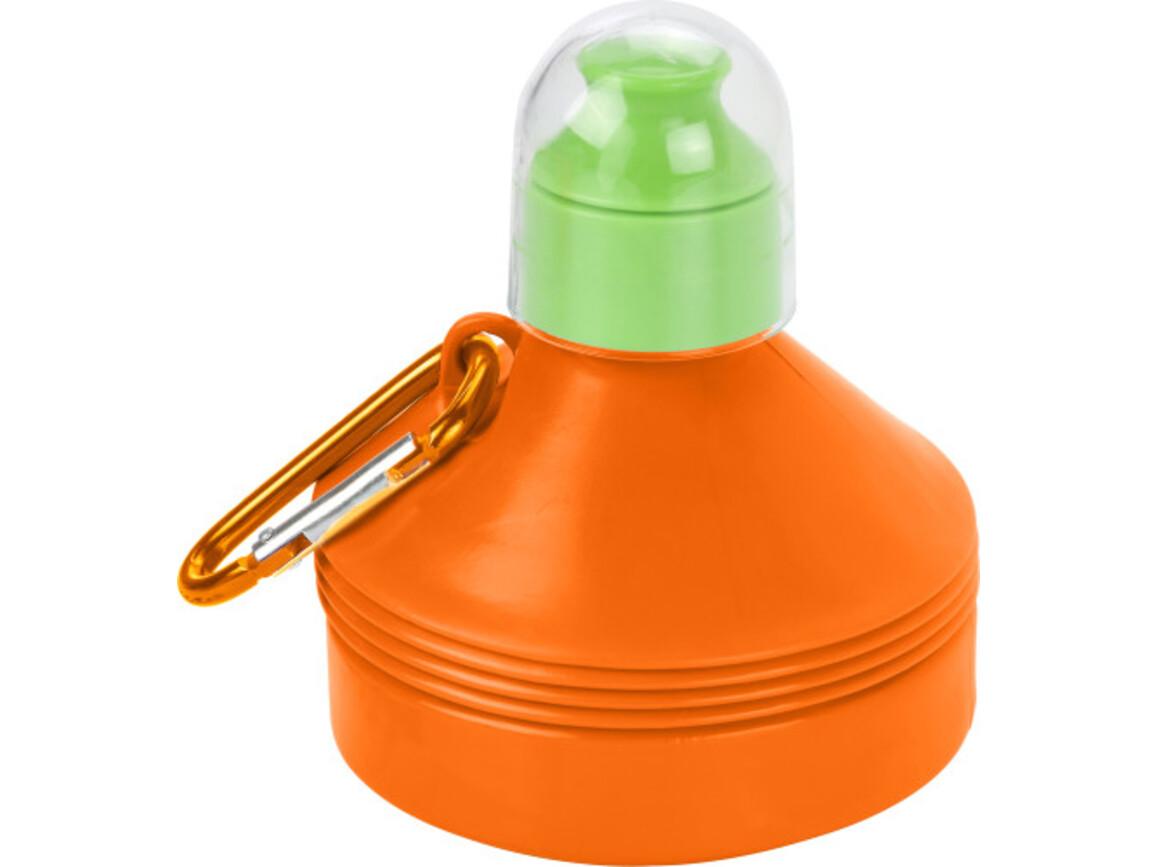 Trinkflasche 'Outdoor' aus Kunststoff – Orange bedrucken, Art.-Nr. 007999999_3879