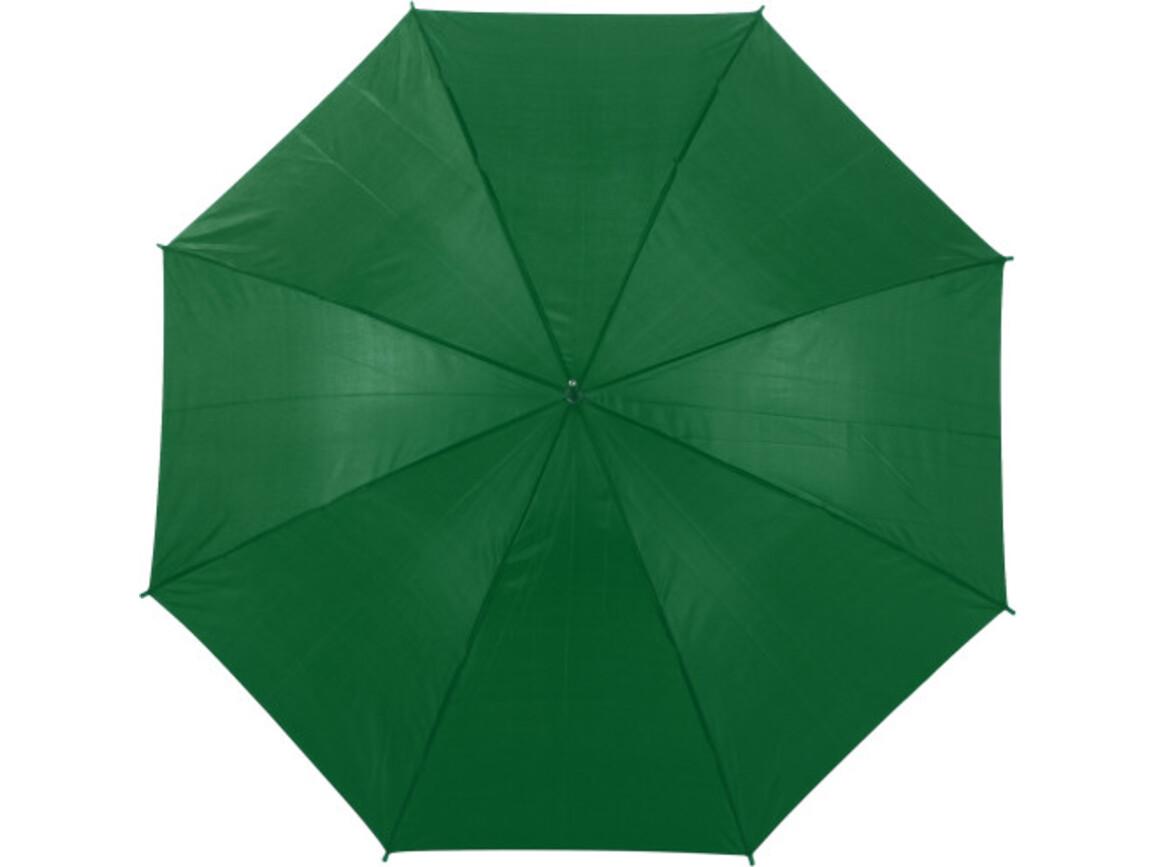 Portierschirm 'Harry' aus Polyester – Grün bedrucken, Art.-Nr. 004999999_4066