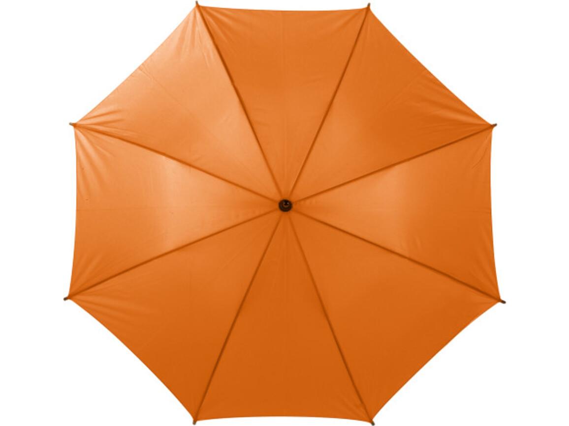 Automatik Stockschirm 'Square' aus Polyester – Orange bedrucken, Art.-Nr. 007999999_4070