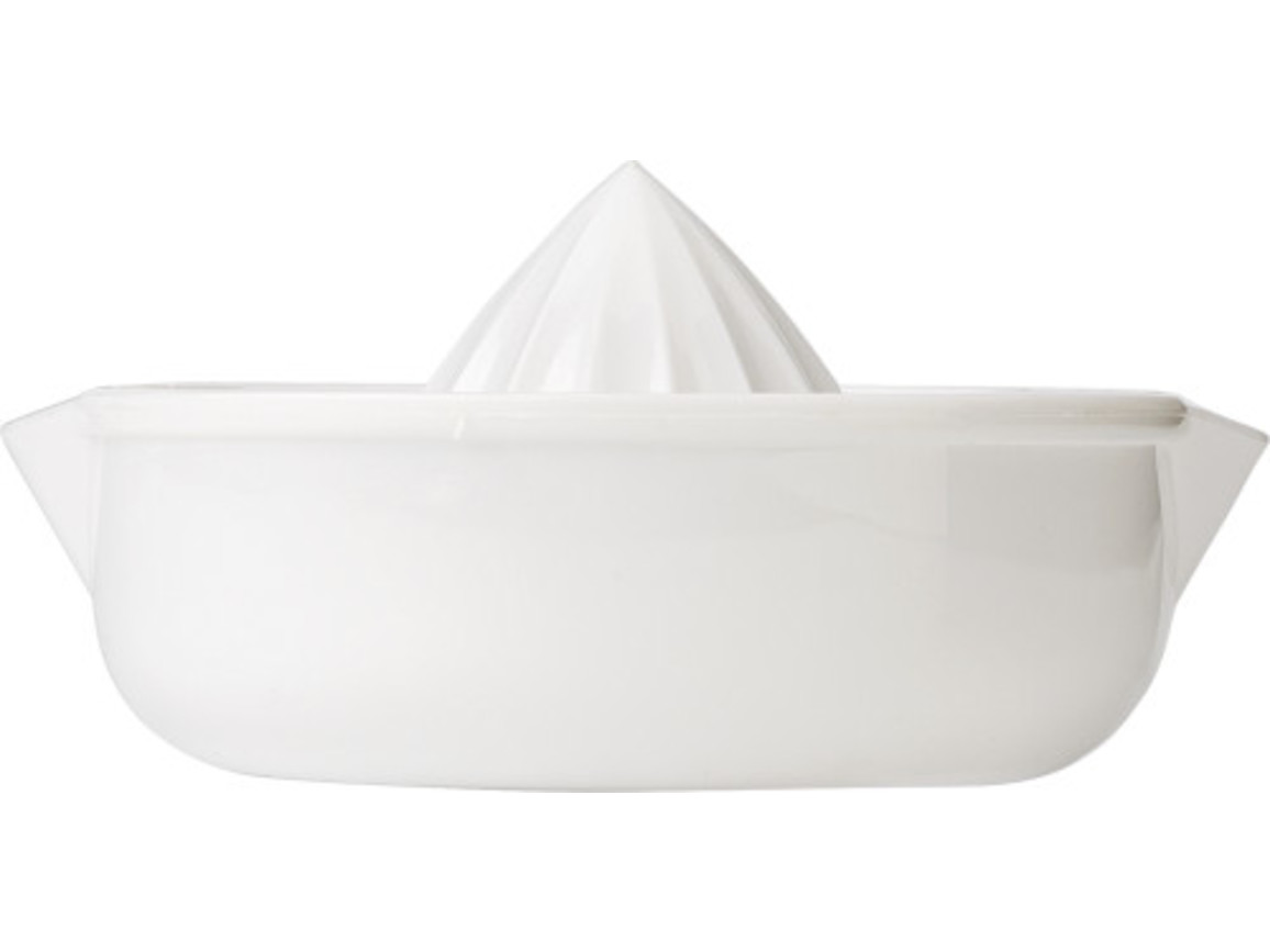 Zitronenpresse 'Lemon' aus Kunststoff – Weiß bedrucken, Art.-Nr. 002999999_4073