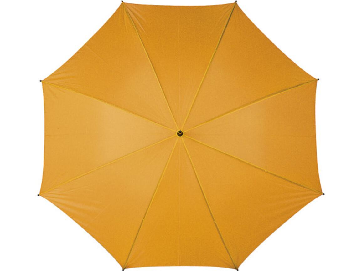 Portierschirm 'Jack' aus Polyester – Orange bedrucken, Art.-Nr. 007999999_4087