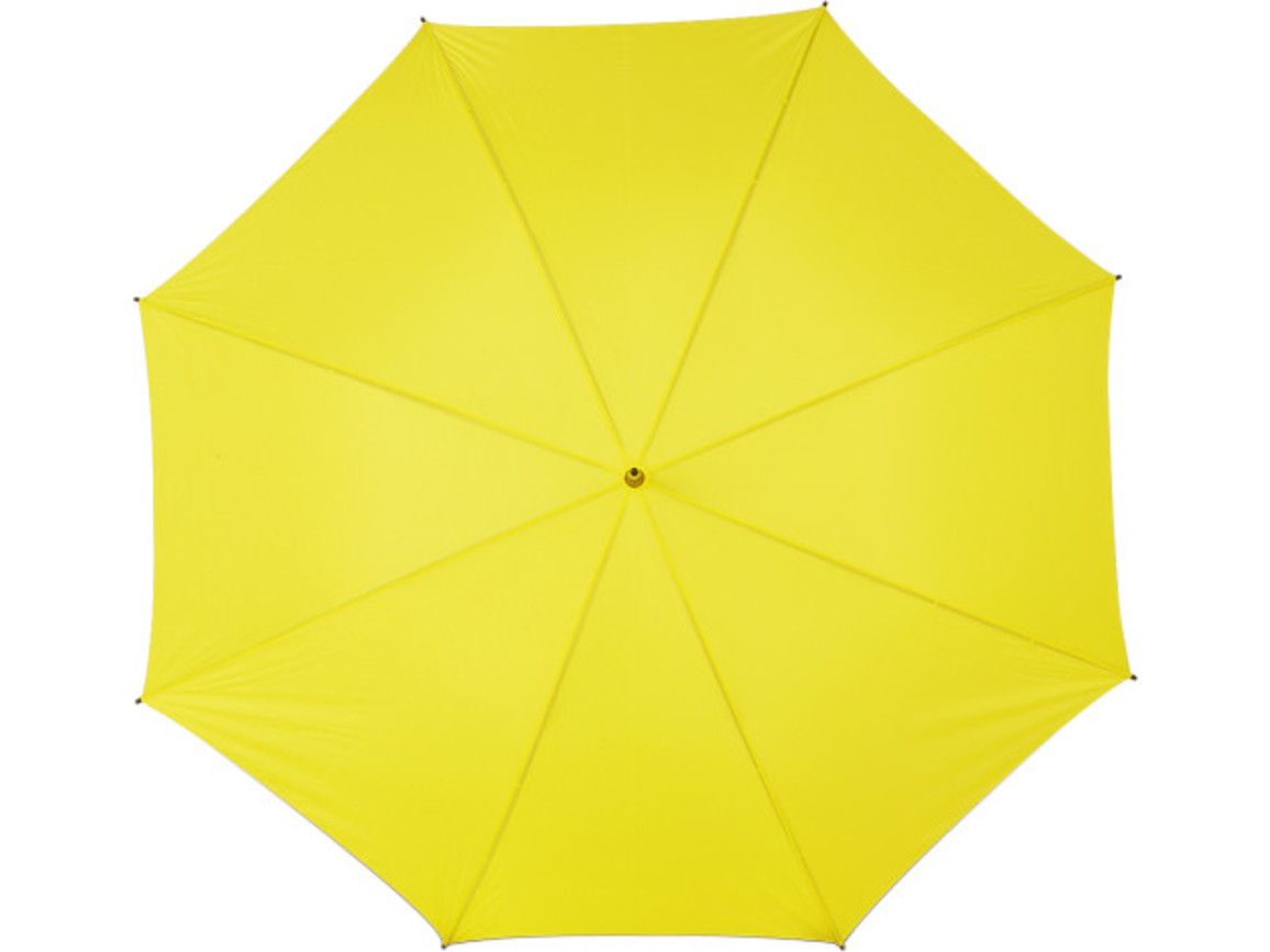 Portierschirm 'Jack' aus Polyester – Gelb bedrucken, Art.-Nr. 006999999_4087