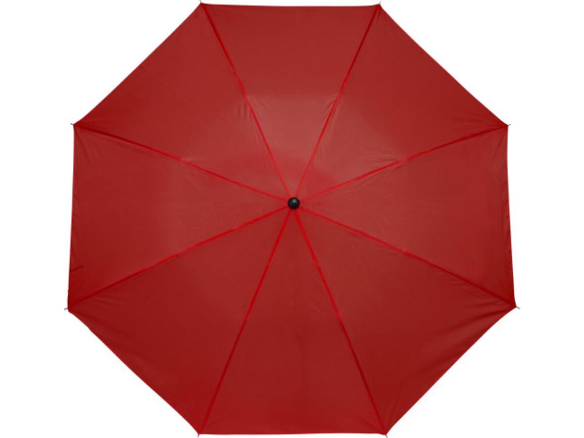 Taschenschirm 'Classic' aus Polyester – Rot bedrucken, Art.-Nr. 008999999_4092