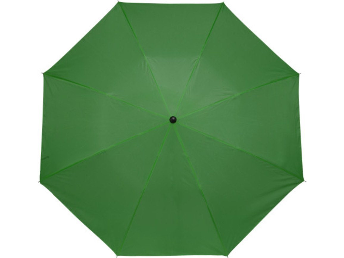 Taschenschirm 'Classic' aus Polyester – Grün bedrucken, Art.-Nr. 004999999_4092